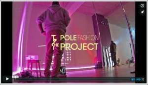 making of The Pole Fashion Project