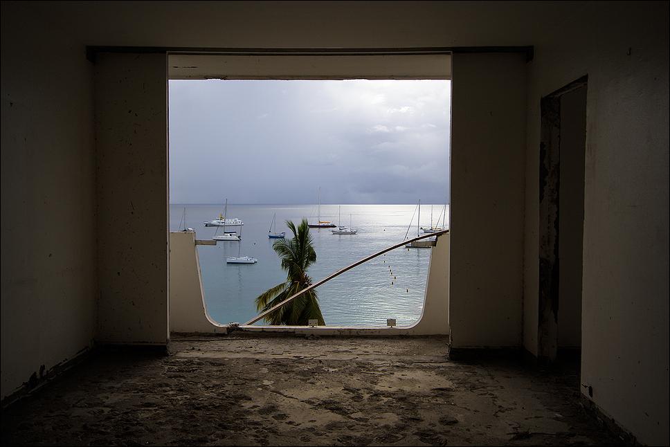Chambre de l'ancien hôtel Meridien aux 3 Îlets Martinique