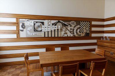 Salle à Manger des enfants  Tableau sculpture de Jan et Joël Martel