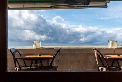 Terrasse du restaurant Le Ventre de l'Architecte