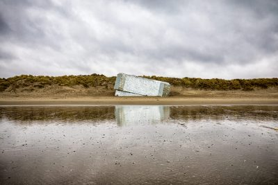 """Bunker """"Réfléchir"""" par Anonyme à Leffrinckoucke - Dunkerque - Haut de France"""