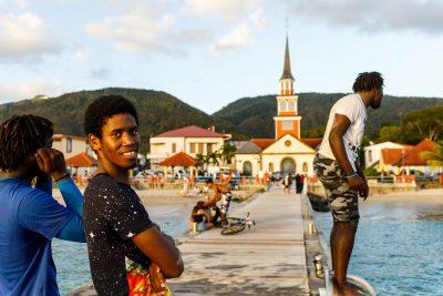 Photo-Histoire autour des pontons de Martinique