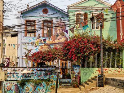 Une maison typique de Cerro Alegre