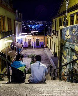 Valparaiso, Street Art, Cerros et Containers