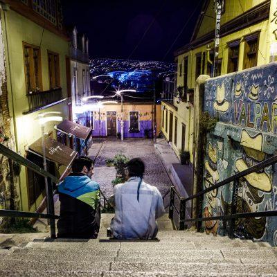 Valparaiso, la reine du streetart, des containers et des marches