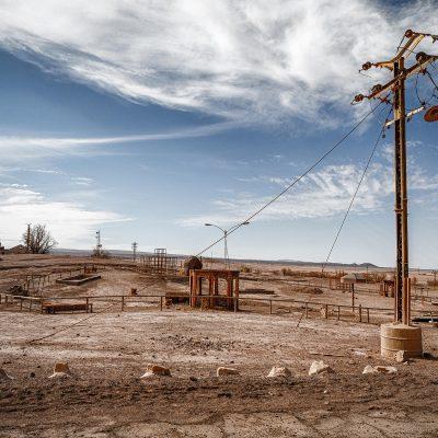 Ghost Town – Oficina Salitrera Pedro de Valdivi – Désert d'Atacama – Chili